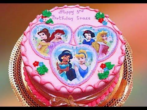 Kue Ulang Tahun Anak Perempuan Terbaru Kue Ultah Karakter Princes Disney Dll