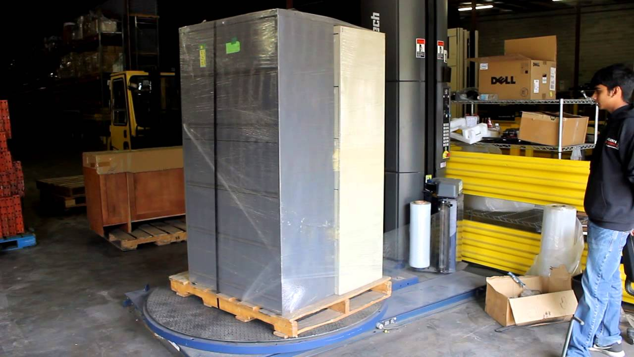 2007 Lantech Q300 Stretch Wrapper Pallet Wrapper With
