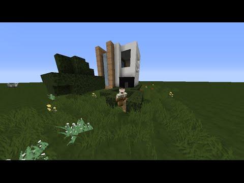Como crear una casa moderna 9x9 en minecraft youtube for Casa moderna 9x9