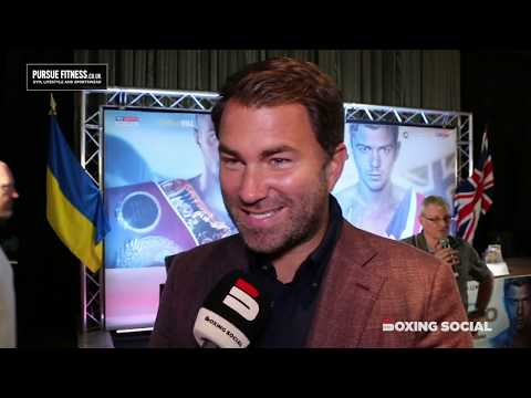 EDDIE HEARN IN-DEPTH ON LOMA-CAMPBELL ANNOUNCEMENT/DAVE ALLEN 'RETIREMENT'/WHYTE-RIVAS & PAC-THURMAN