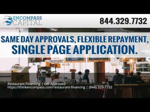 Restaurant Financing   Get Approved