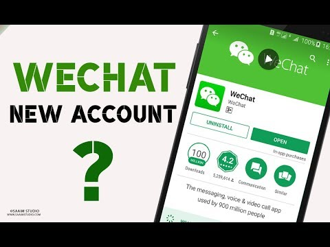 How To Create WeChat New Account Urdu/Hindi? Sign In To WeChat 2018?
