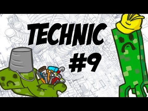 Tekkit - Episode 9 - Mining Lasers And Energy Links