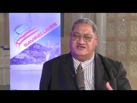 ITU INTERVIEWS @ GET-2016: H.E. Mr. Monise Laafai, Minister, Ministry of Comms & Transport, Tuvalu