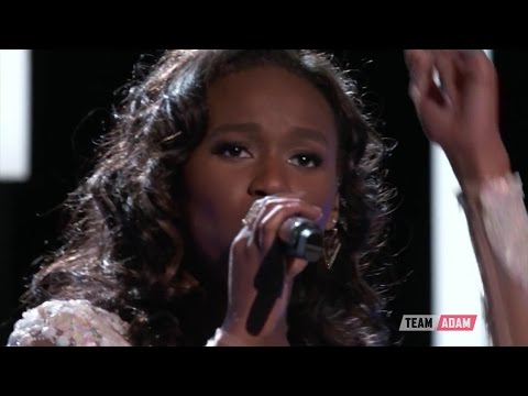 """The Voice US  Live Semi-final Performances - Shalyah Fearing """"And I Am Telling You I'm Not Going"""""""