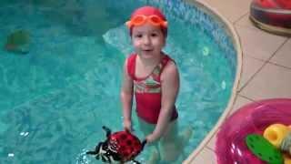 Плавание для детей. Бассейн Fitness House на Мебельной.