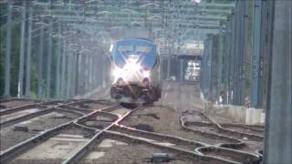 Amtrak 40th Anniversary Train passes Old Saybrook