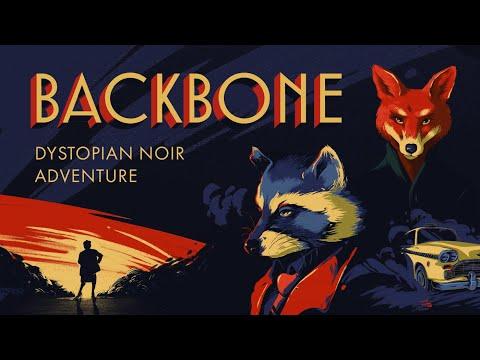 Backbone - Reveal Trailer - Beautiful dystopian noir adventure coming 2021!