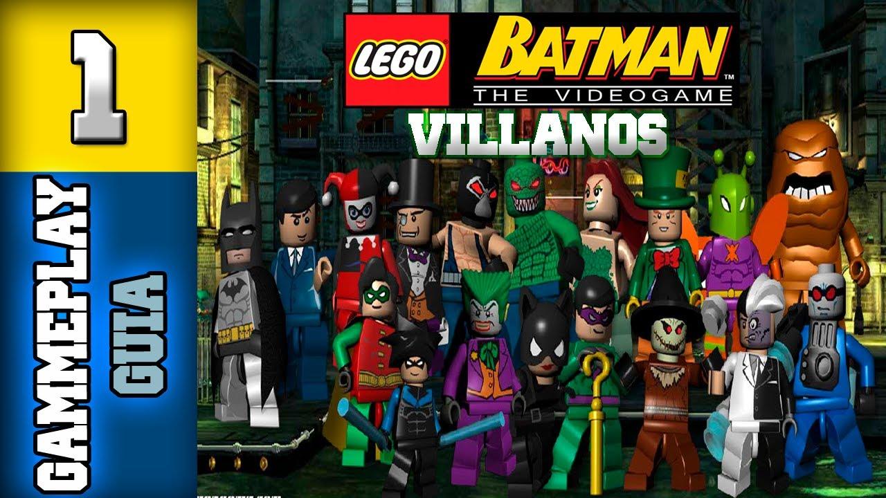 "LEGO Batman 1 Gua - Espaol Parte 1 Villanos ""Misin 1 ..."