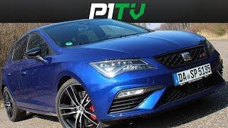 SEAT Leon CUPRA 300 Review / Fahrbericht - Facelift 2017 - P1TV