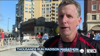 Madison Marathon attracts all types of runners