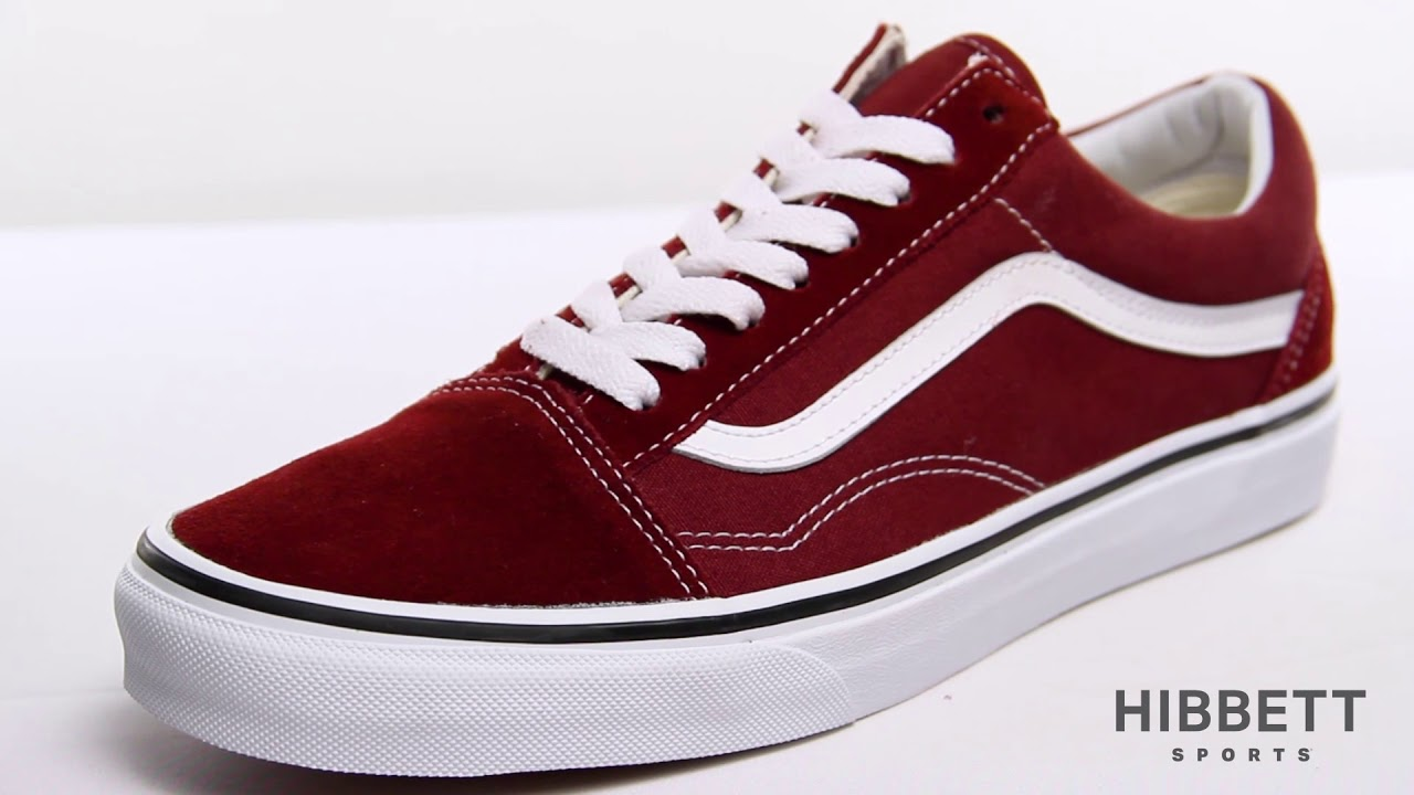 Mens Vans Old Skool Skate Shoe - YouTube b61a09f4b