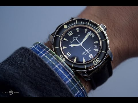 The Story Of The Blancpain Fifty Fathoms, A CNN Production Feat. Time+Tide And Hodinkee