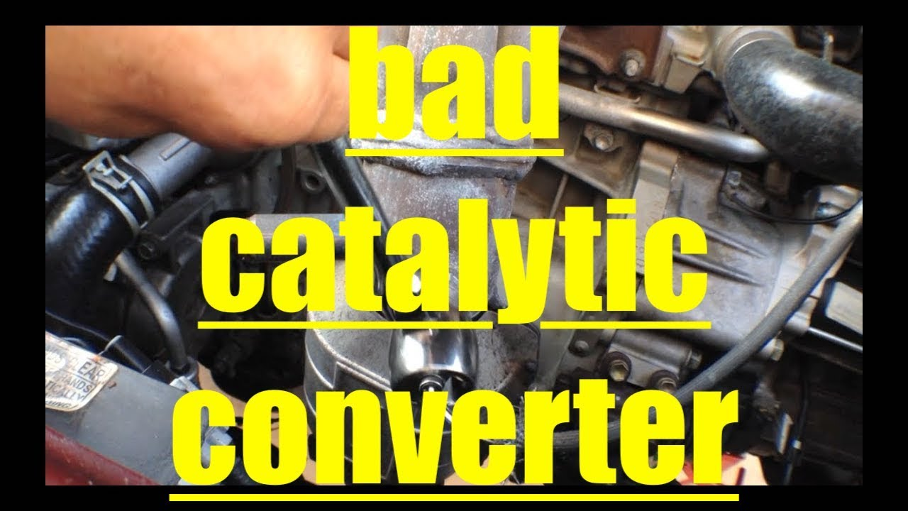 P Diagnosis Replacement Catalytic Converter Toyota