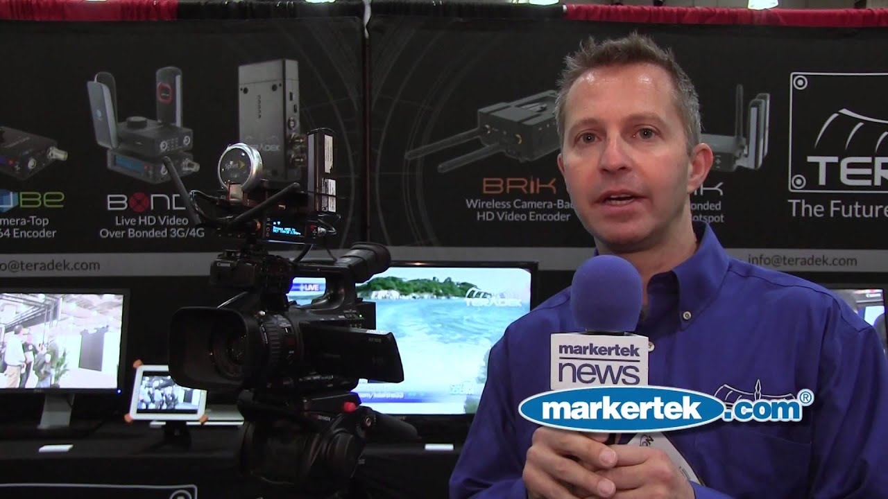 HD Video Over 3G & 4G Cellular from Teradek