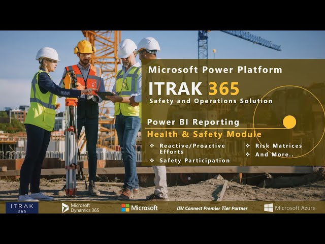 ITRAK Reporting: Health & Safety Dashboards