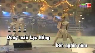 [Karaoke] Dong Mau Lac Hong - Dan Truong