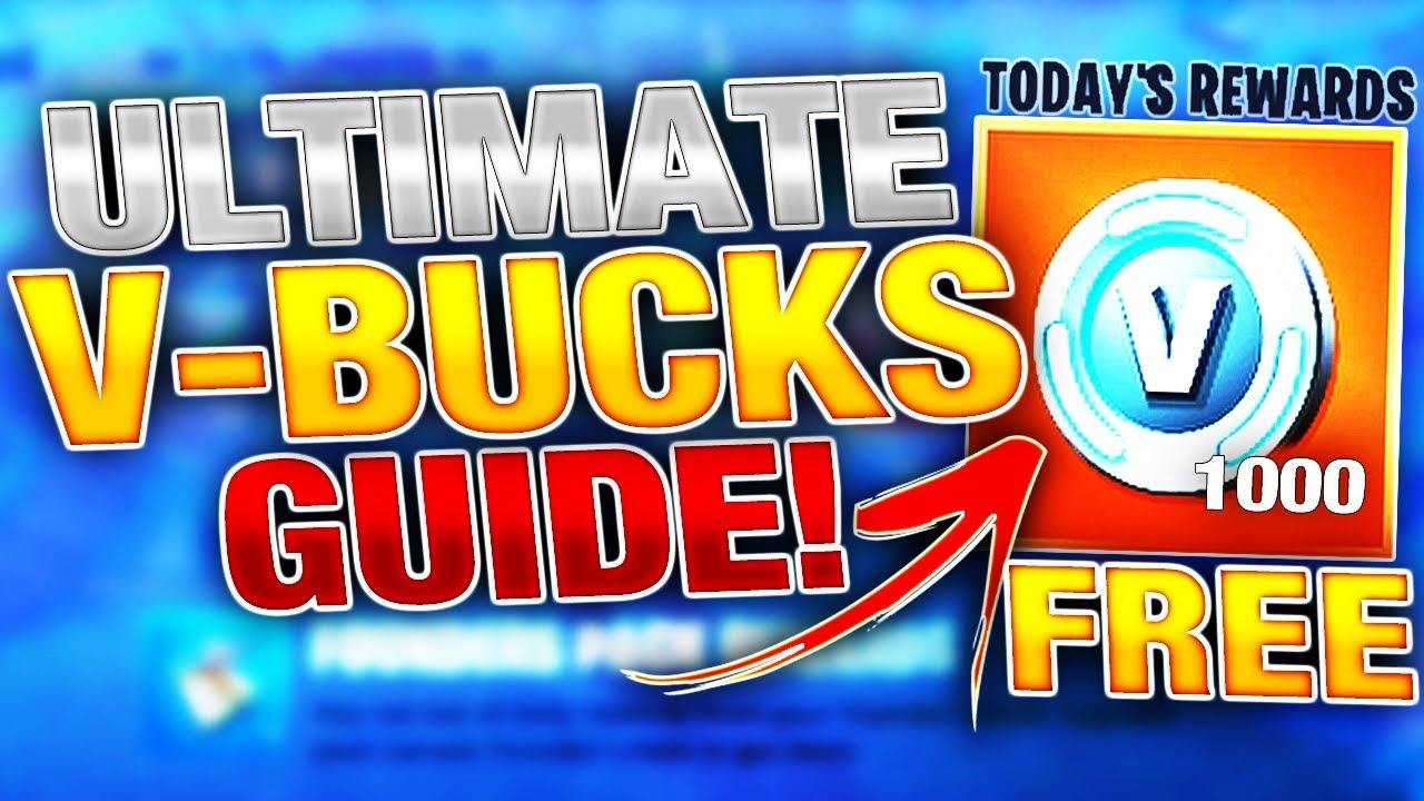 Freevbucks Co ultimate free vbucks farming guide in fortnite! | earn 1000 vbucks a day!
