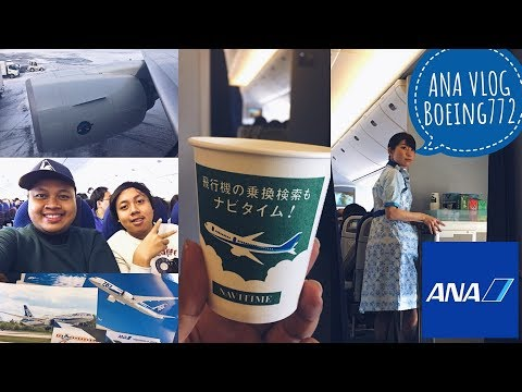 All Nippon Airways VLOG | Boeing 777 Osaka to Sapporo | Economy Class