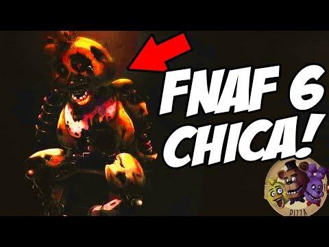 FNAF 6 CHICA REVEALED! || Five Nights at Freddys 6 (FNAF 6 Game Teaser)