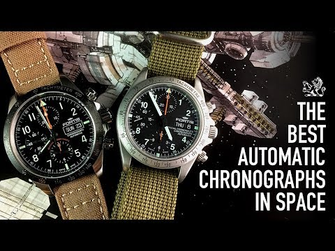 The Best Space Going Automatic Chronograph - The Fortis Cosmonaut Classic Comparative Review