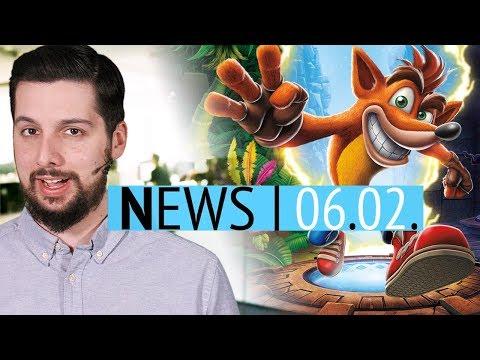 Neues Crash für PC & Switch - Entlassungen bei Capcom Vancouver - News