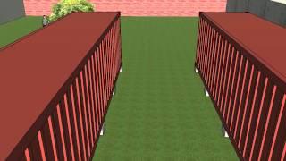 Фиолент - контейнеры поставлены - обзор участка(Первоначальный план строительства дома из контейнеров, продполагается пристроить еще площади по бокам..., 2014-10-21T20:51:53.000Z)