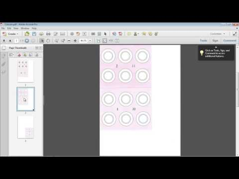 Inserting & Extracting Pages with Acrobat XI Pro