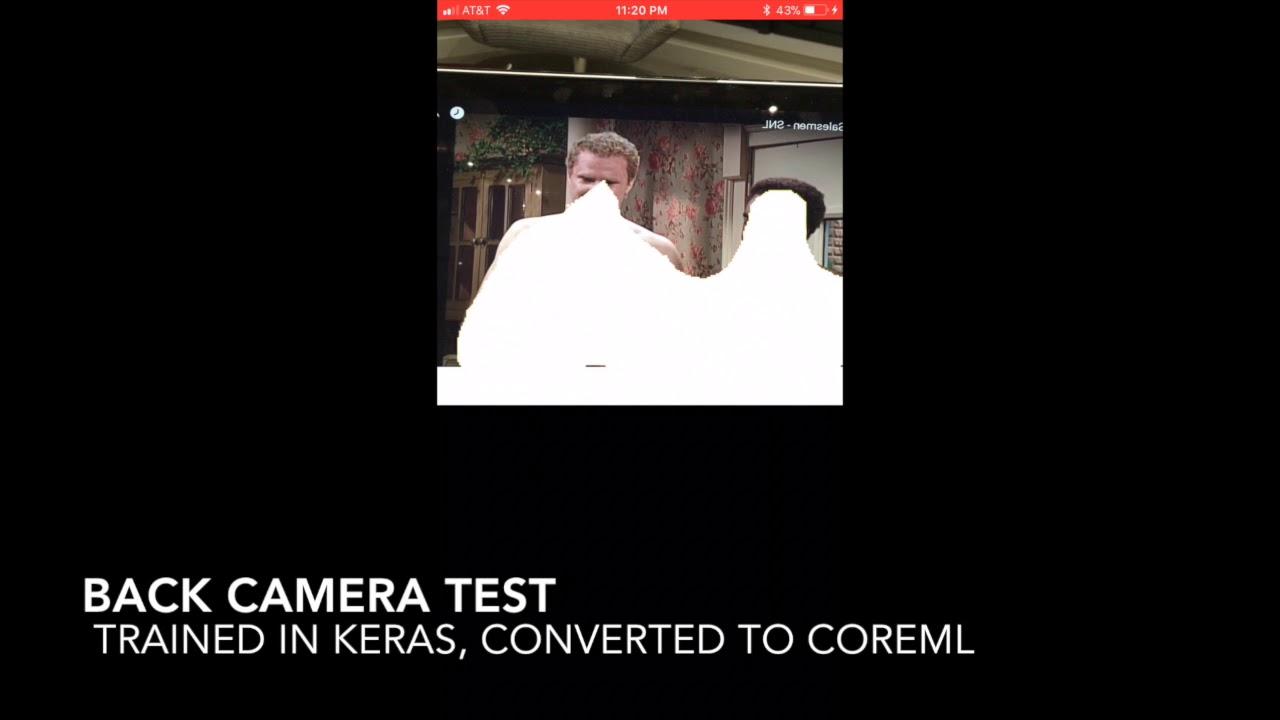 Realtime Image Segmentation on iOS, Keras + CoreML