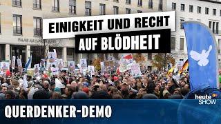 Querdenker-Demo in Berlin: Corona-Diktatur oder doch nur Einbildung?