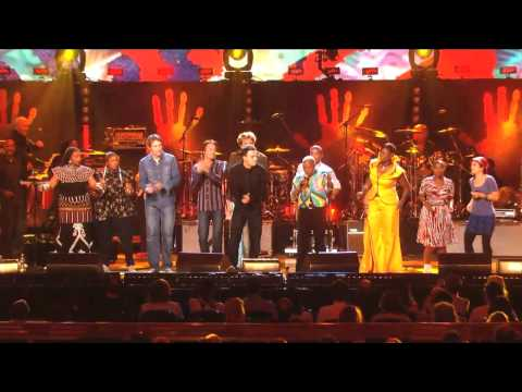 "African Artists perform ""Give Me Hope Joanna"" at Mandela Day 2009 from Radio City Music Hall"