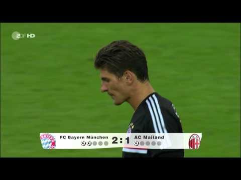Audi Cup 2011 Fc Bayern - Ac Mailand 5:3 n.E [HD]
