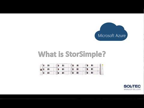 Microsoft Azure StorSimple Introduction: How it works