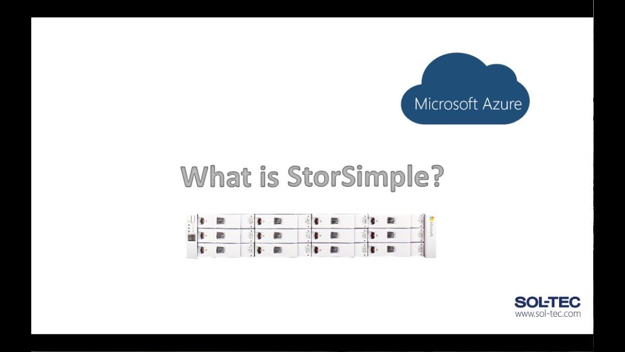microsoft azure storsimple introduction  how it works