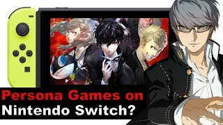 Is Persona Coming to Nintendo Switch?!  Atlus Shows Interest!