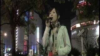 「花 -3Hearts-」上野まな (Mana Ueno) Street Live