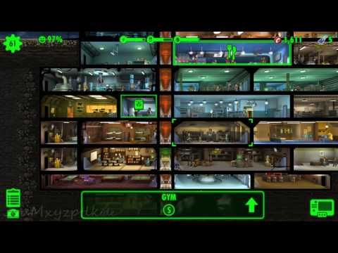 Fallout Shelter Finally Atomic Energy, But Deathclaws... Daily Quest: Spy On Raiders.