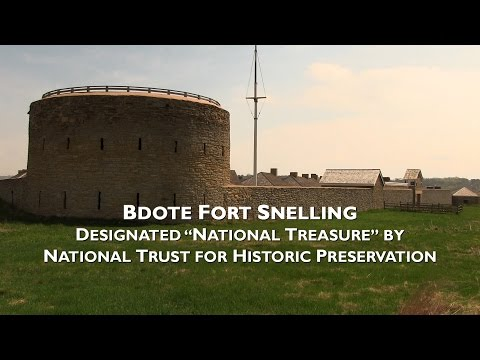 Bdote Fort Snelling named National Treasure