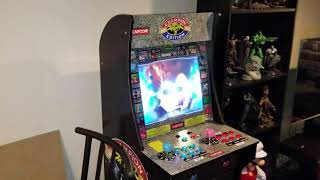 Arcade 1up newest addition to my cabinet collection! Galaga!