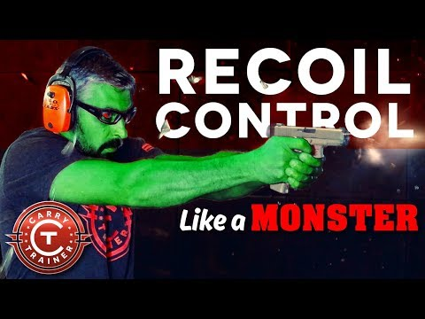 Pistol Recoil Control like a Monster | Episode #47
