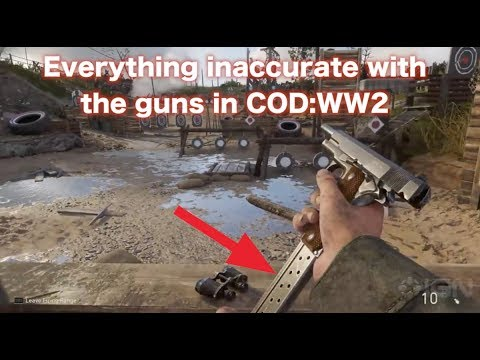 Everything I can find wrong with the guns of COD:WW2: just stupid nitpicks