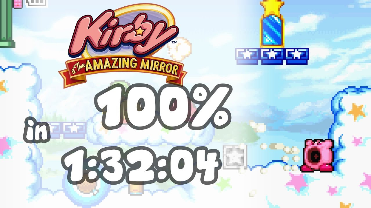 Kirby and the Amazing Mirror - 100% in 1:32:04 on kirby dreamland map, kirby amazing mirror cheats vizzed, donkey kong country 2 map, kirby amazing mirror wiz, kirby and the magic mirror, kirby amazing mirror guide, breath of fire 2 map,