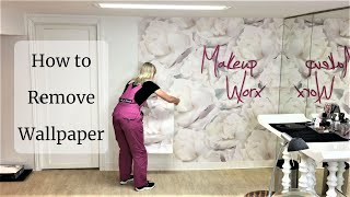How to remove wallpaper from AboutMurals.ca