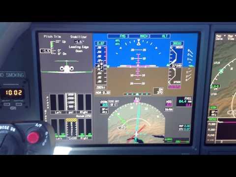 Gulfstream G550 | Mach speed = 0.87