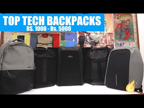 Top Tech Gadget Backpacks From Rs.1000 to Rs. 4500 - iGyaan