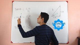 El Refresco en la Trigonometría - Catetos e Hipotenusa