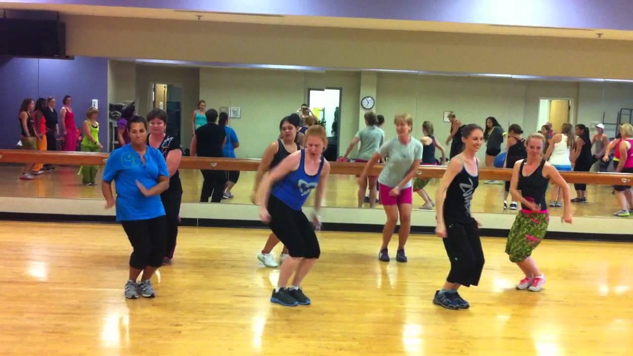 Aqua Zumba Choreography To Crazy Love Instructor Training In