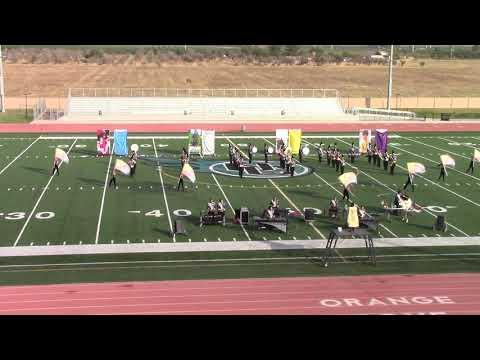 Delano High School Tiger Marching Band 11-03-18 Halftime Exhibition