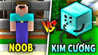 THỬ THÁCH Troll NOOB Bằng KHỐI KIM CƯƠNG Trong Minecraft!!