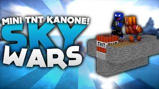 Mini TnT Kanone! - Minecraft Sky Wars! | DieBuddiesZocken